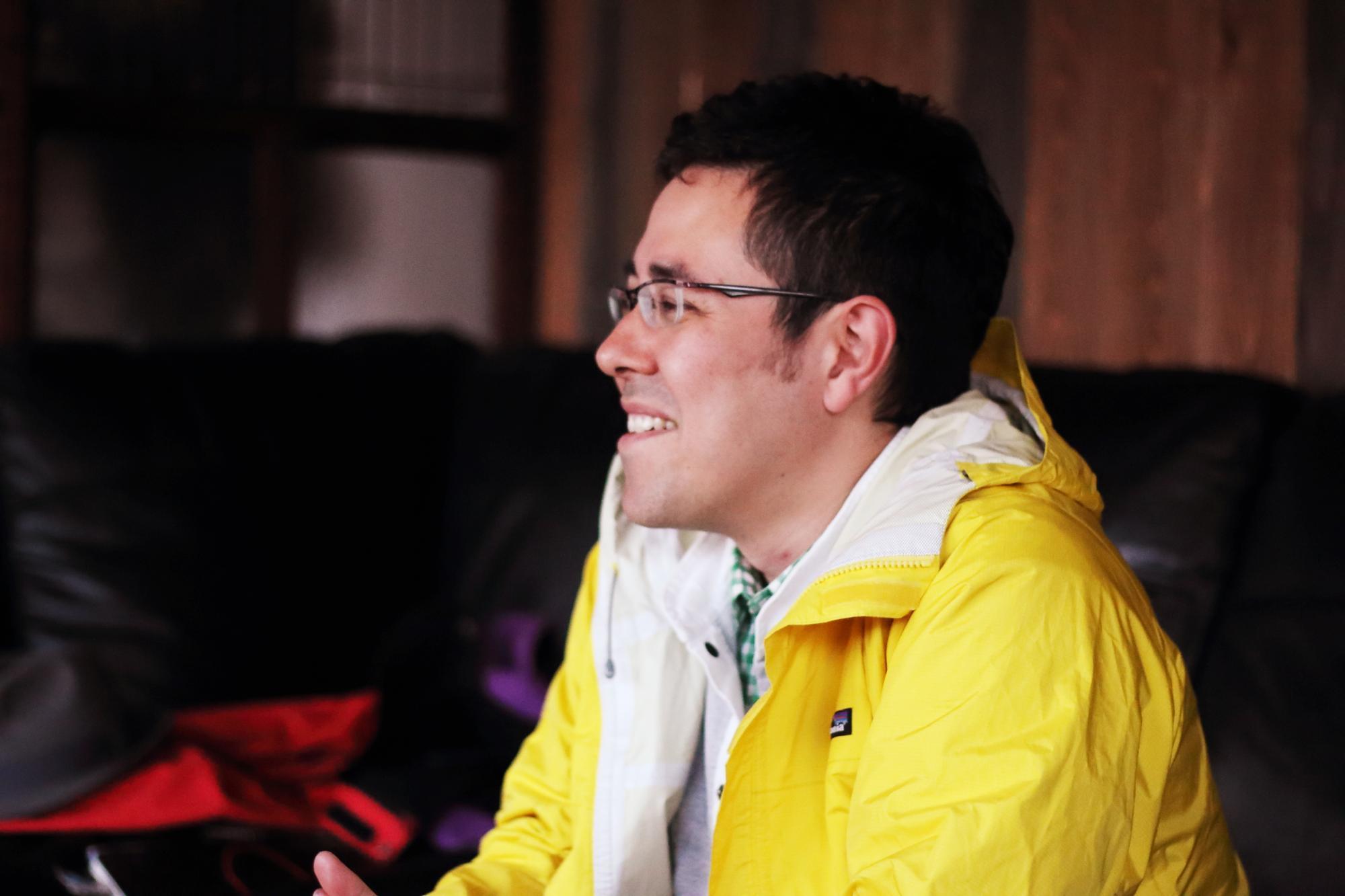 せんきょCAMP言い出しっぺのひとりである鈴木菜央(greenz.jp編集長)