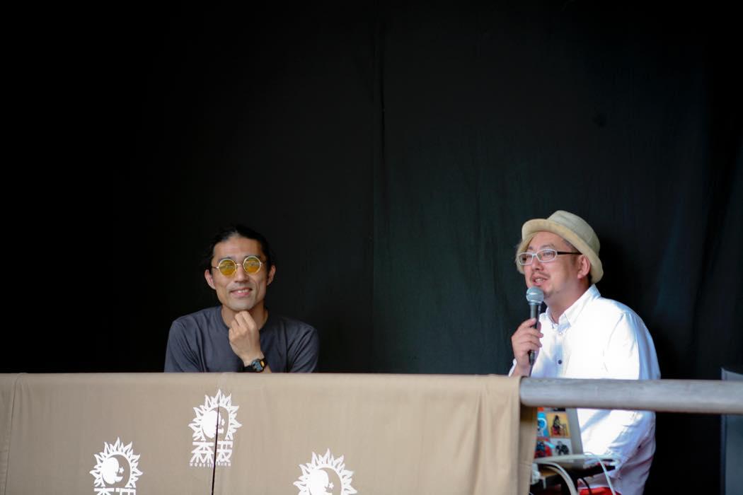 左の方が、主催者の柴田さん。
