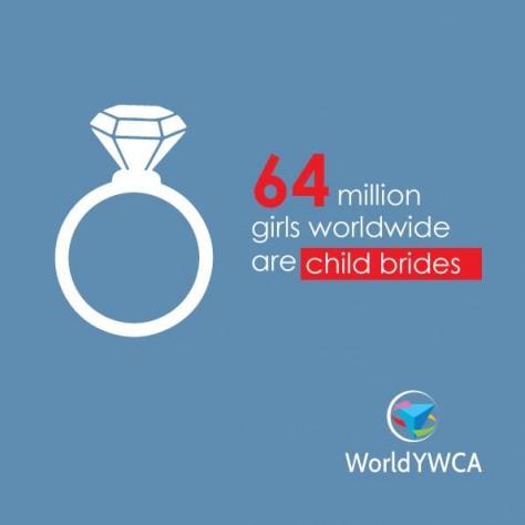 世界中で6400万人の少女が児童婚をさせられている