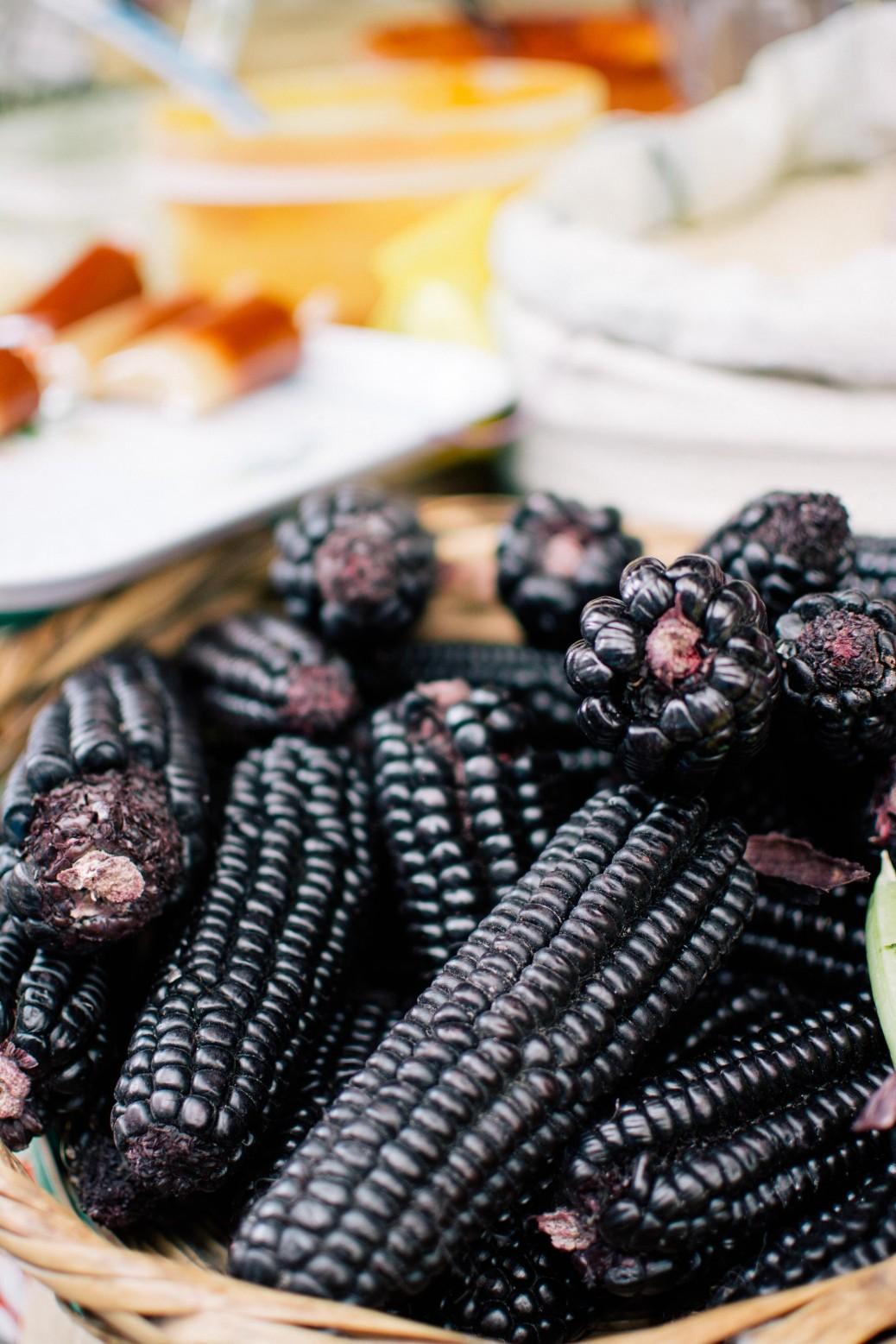 ペルーが原産の紫トウモロコシ インカ帝国の時代から愛されたその効能は計り知れない